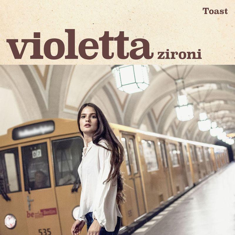 Cover art of Violetta Zironi single 'Toast'