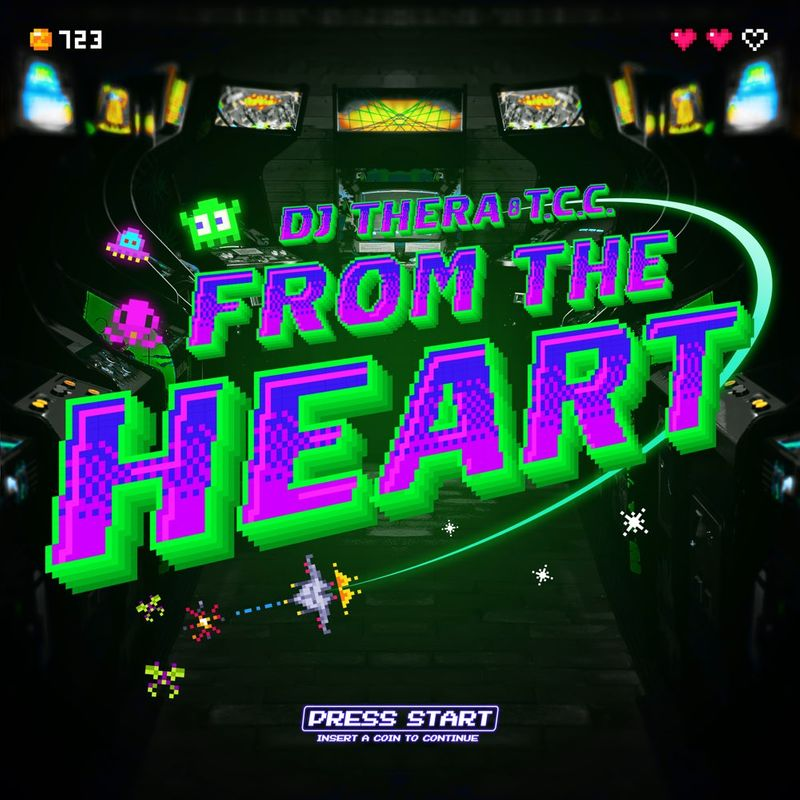 Cover art of DJ Thera album 'From The Heart'