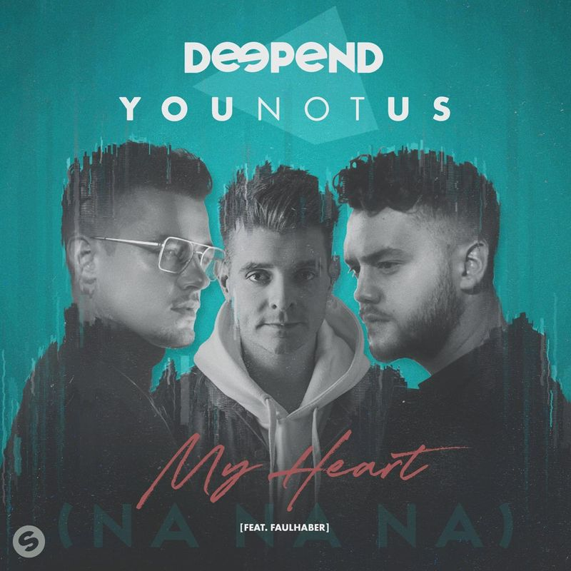 Cover art of Deepend single 'My Heart (NaNaNa)'